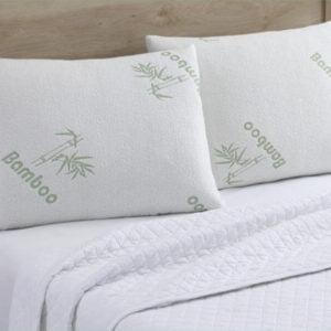 Μαξιλάρι Ύπνου Μέτριας Σκληρότητας Bamboo Memory Foam 50×70