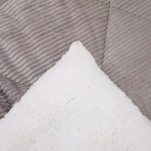 Κουβερτοπάπλωμα Sherpa Υπέρδιπλο 220Χ240  Γκρί