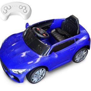 Παιδικό Τηλεκατευθυνόμενο Αυτοκίνητο Τύπου Mercedes GTR 6V-Μπλε